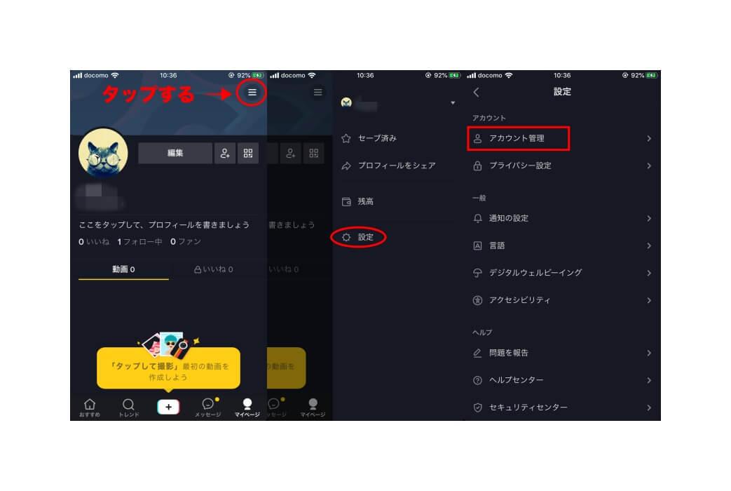 TikTok インサイト